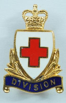 British Red Cross Division collar badges