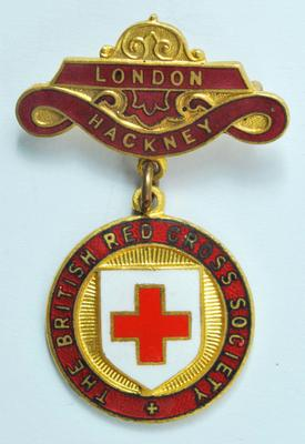 British Red Cross County badge: London/Hackney