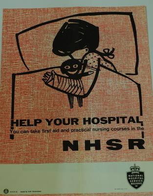 National Hospital Service Reserve recruitment poster