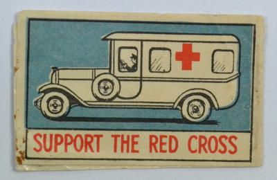 flag: 'Support the Red Cross'