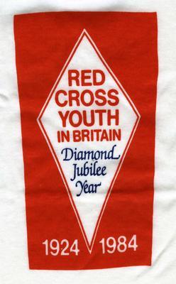 t-shirt: Red Cross Youth In Britain/Diamond Jubilee Year/1924 1984