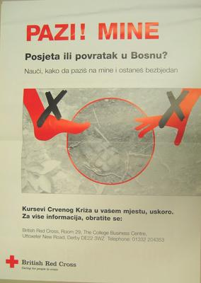poster about anti-personnel mines