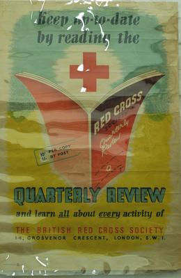 poster advertising the Red Cross Quarterly Review