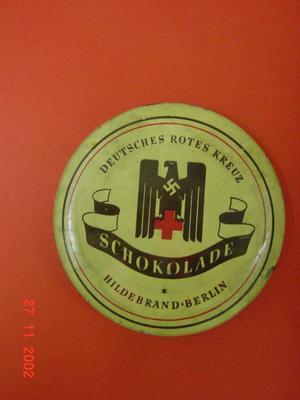 chocolate tin; Gifts and Souvenirs/Tin; 1813/2