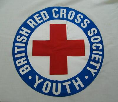 Large flag : 'British Red Cross Society Youth'