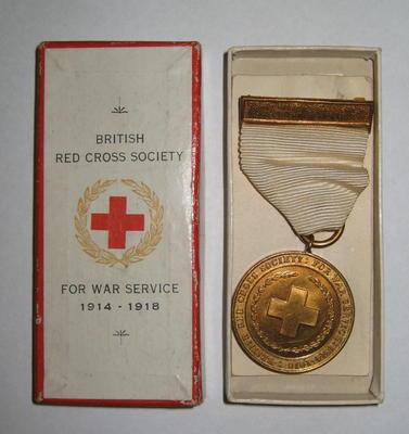 British Red Cross War medal