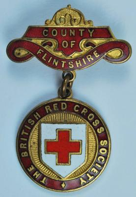 County badge for the County of Flintshire