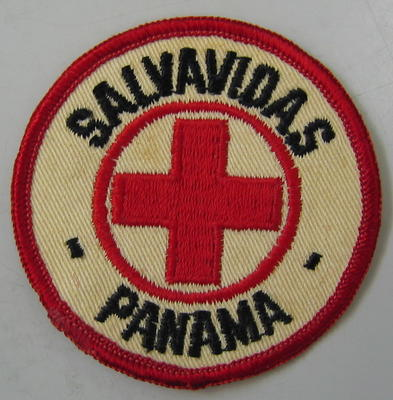 Cloth badge: Salavidas Panama
