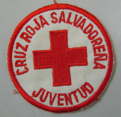Cloth badge: Cruz Roja Salvadorena Juventud