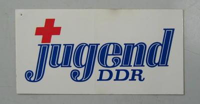 Sticker: jugend DDR