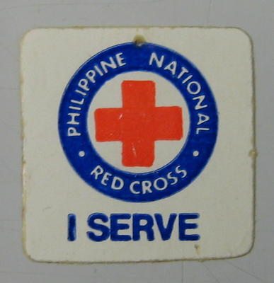 Sticker: Philippine National Red Cross I Serve