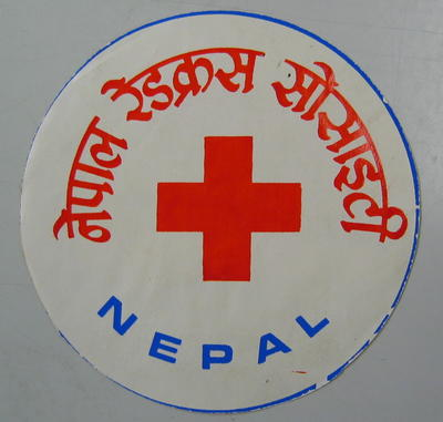 Sticker: Nepal [Nepal Red Cross Society]