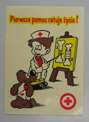 Sticker: Pierwsza pomoc ratuje zycie! [First Aid Saves Lives]