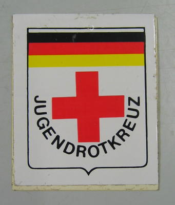 Sticker: Jugendrotkreuz