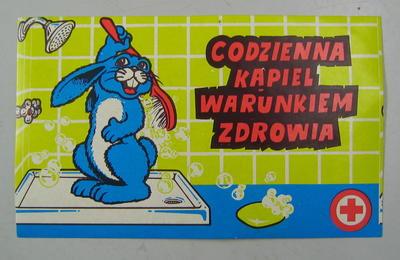Sticker: Codzienna Kapiel Warunkiem Zdrowia.