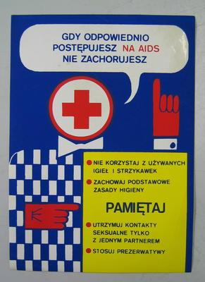 Sticker: Gdy odpowiednio postepujesz na aids nie zachorujesz