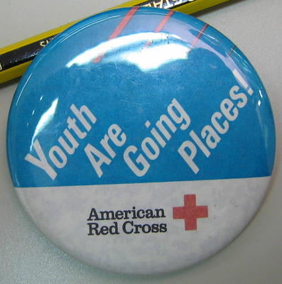 badge: Youth Are Going Places! American Red Cross