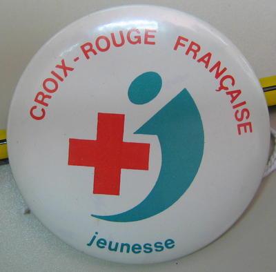 Badge: Croix-Rouge Francaise jeunesse