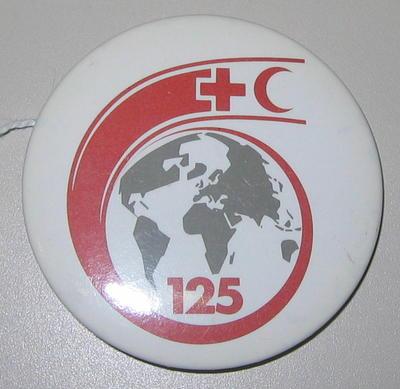 Badge: ICRC 125th anniversary badge