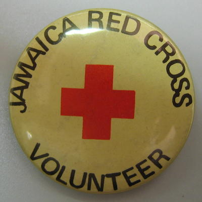 Badge: Jamaica Red Cross Volunteer