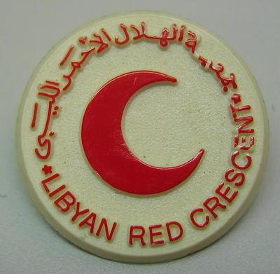 Badge: Libyan Red Crescent