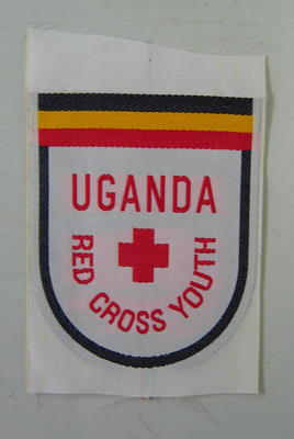 Cloth badge: Uganda Red Cross Youth