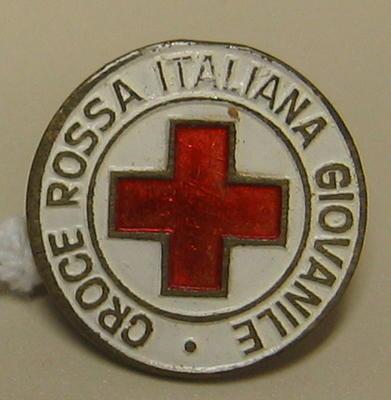 Badge: Croce Rossa Italiana Giovanile