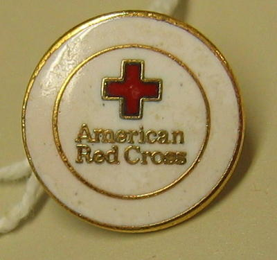 Badge: American Red Cross [back of pin is missing]