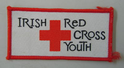Cloth badge: Irish Red Cross Youth