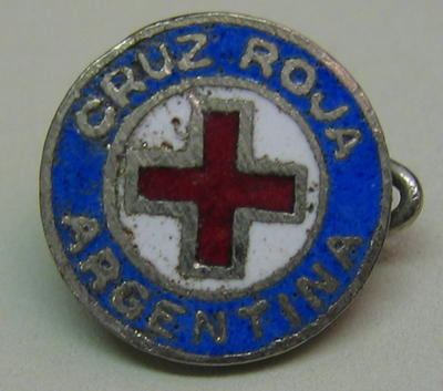 Badge: Cruz Roja Argentina