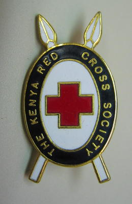 Badge: The Kenya Red Cross Society