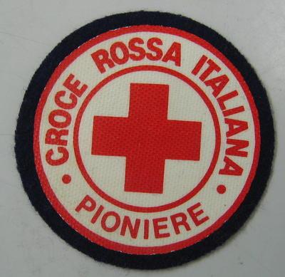 Cloth badge: Croce Rossa Italiana Pioniere