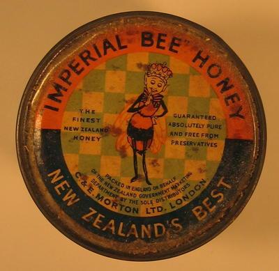 Tin of Imperial Bee Honey