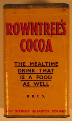 Tin of Rowntree's Cocoa