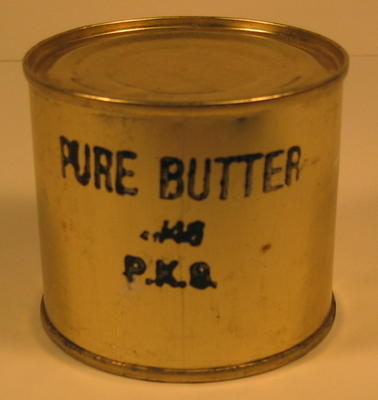 Tin of pure butter