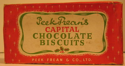 Packet of Peek Frean's Capital Chocolate Biscuits