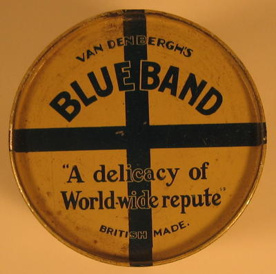 Tin of Blueband Margarine