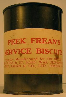 Tin of Peek Frean's Service Biscuits