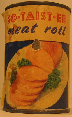 Tin of So Taistee Meat Roll