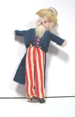Uncle Sam doll