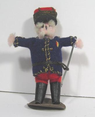 French soldier doll