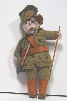 British soldier doll