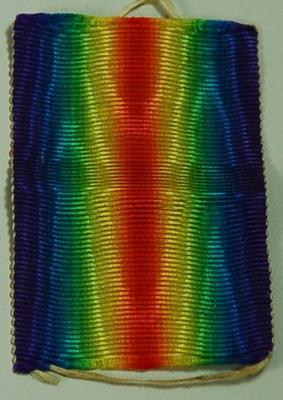 medal ribbon; Medals and Badges/Ribbon; 2045/7