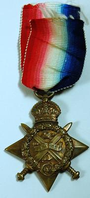 1914 Star; Medals and Badges/medal; 2045/9