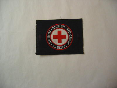 British Red Cross Society Junior patch for brassard