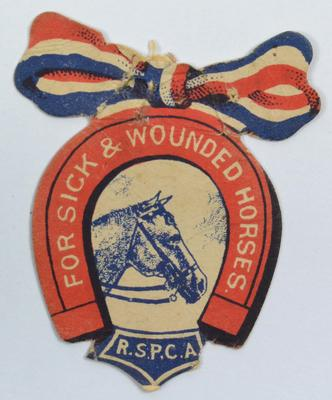 flag: RSPCA for Sick and Wounded Horses
