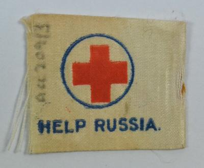 fundraising flag: 'Help Russia'