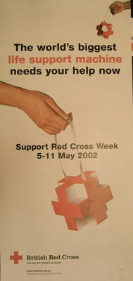 Red Cross Week 5-11 May 2002 poster