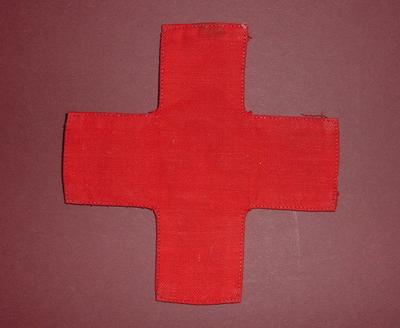 fabric red cross emblem