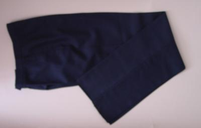 Ladies navy trousers